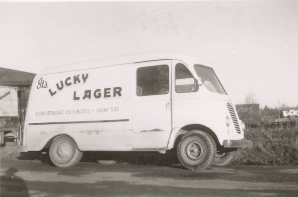 First Delivery Vehicle 1950